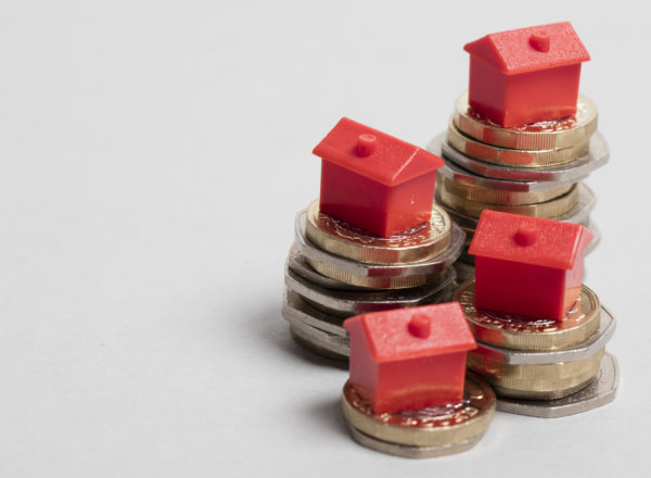 houses on coins